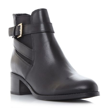 Linea Postin chelsea ankle strap boots