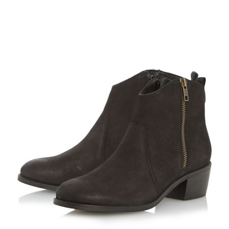 Linea Peatton side zip western boots