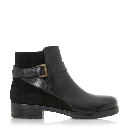 Linea Pearlie mixed material ankle boots