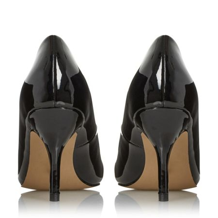 Head Over Heels Andrina pointed toe mid heel court shoes