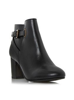 Oppal buckle strap ankle boots