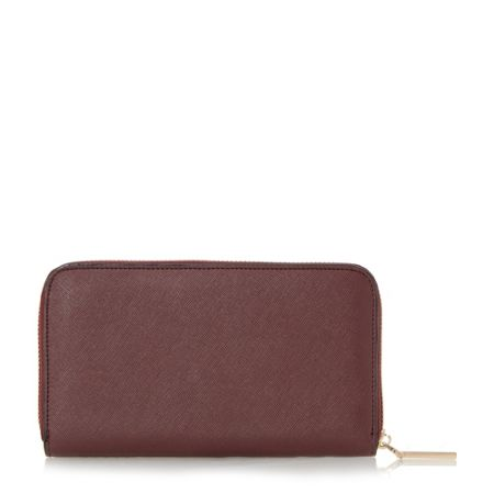 Dune Kay patchwork zip around purse