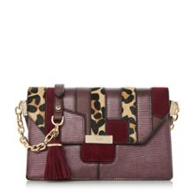 Dune Dallows patchwork shoulder bag