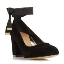Head Over Heels Avandra bow tie detail court shoes
