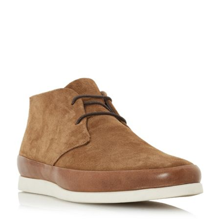 Bertie Curtis contrast tand lace up shoes
