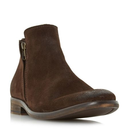 Bertie Collie double zip casual boots