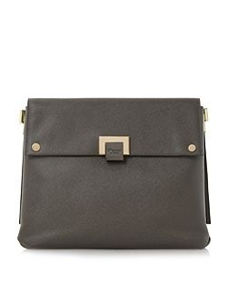 Donner flapover cross body bag