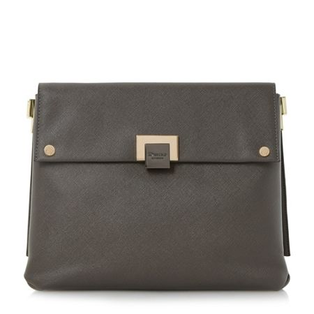 Dune Donner flapover cross body bag