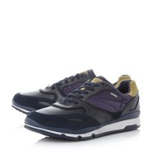 Geox Sandro b lace up trainers
