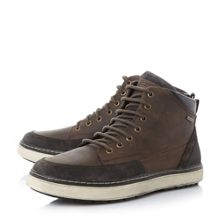 Geox Mattias b lace up cupsole ankle boots