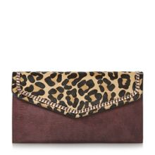 Dune Elaine chain detail clutch bag