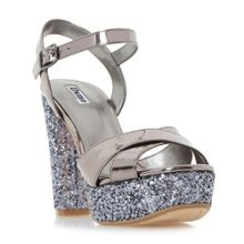 Dune Mahikie diamante strap high heel sandals