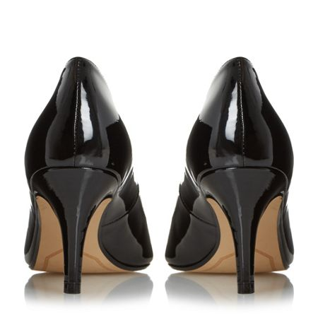 Dune Amelia mid heel court shoes