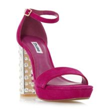 Dune Mercurie jewelled platform sandals