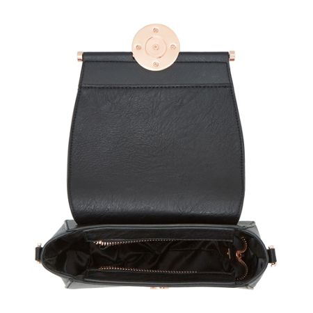 Dune Ebonnie circle lock saddle bag