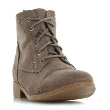 Head Over Heels Paola lace up desert boots