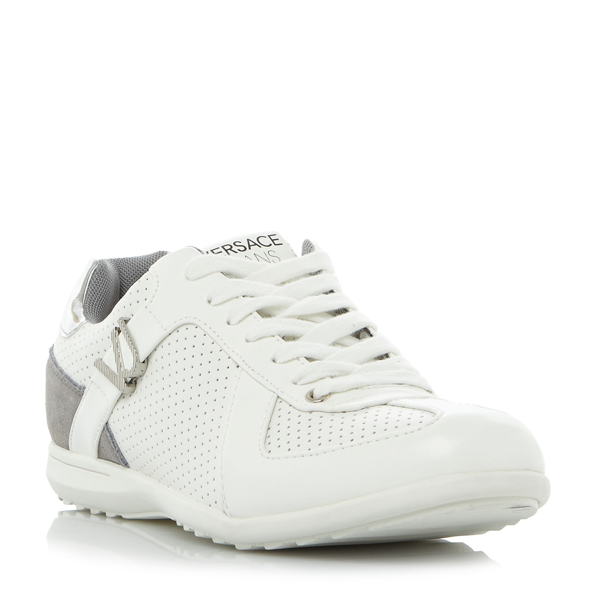 Versace Jeans Versace Jeans Ypbsc1 suede trainers, White