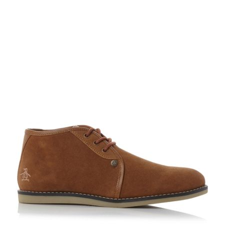 Original Penguin Legal suede desert chukka boots