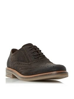 Brindle Burnished Detail Brogue Shoe