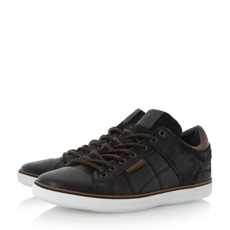 Dune Tobey quilted panel trainers