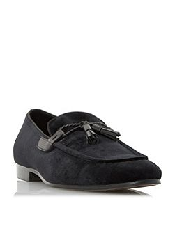 Rescuer tassel velvet loafer shoes