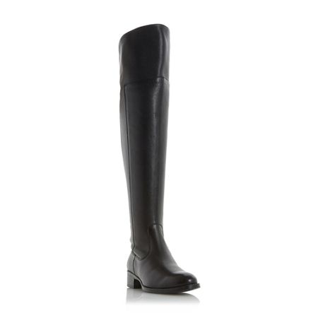 Dune Taylor turn down over the knee boots