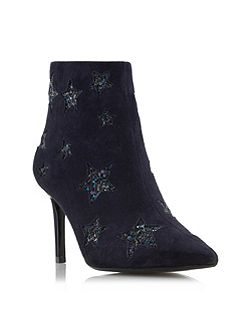 Orbit glitter star ankle boots