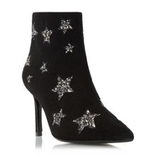 Dune Orbit glitter star ankle boots