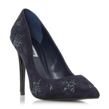 Dune Blue moon glitter star court shoes