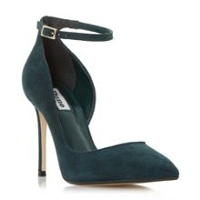 Dune Clementine ankle strap court shoes