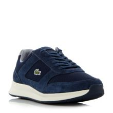 Lacoste Joggeur contrast runner style trainers