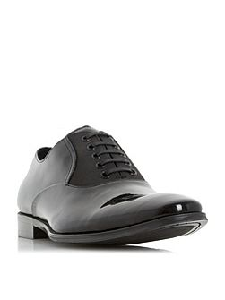 Requiem grosgrain patent oxford shoes