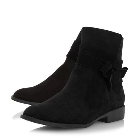 Head Over Heels Pariah wrap strap ankle boots