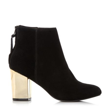 Steve Madden Cynthia-g sm gold heel ankle boots