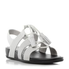 FitFlop Gladdie lace up tassel sandals