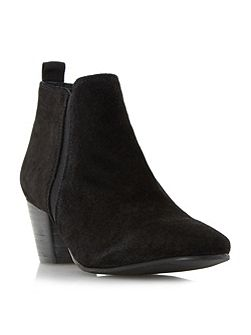 Perdy suede casual low boots