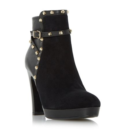 Dune Octavian studded ankle boots