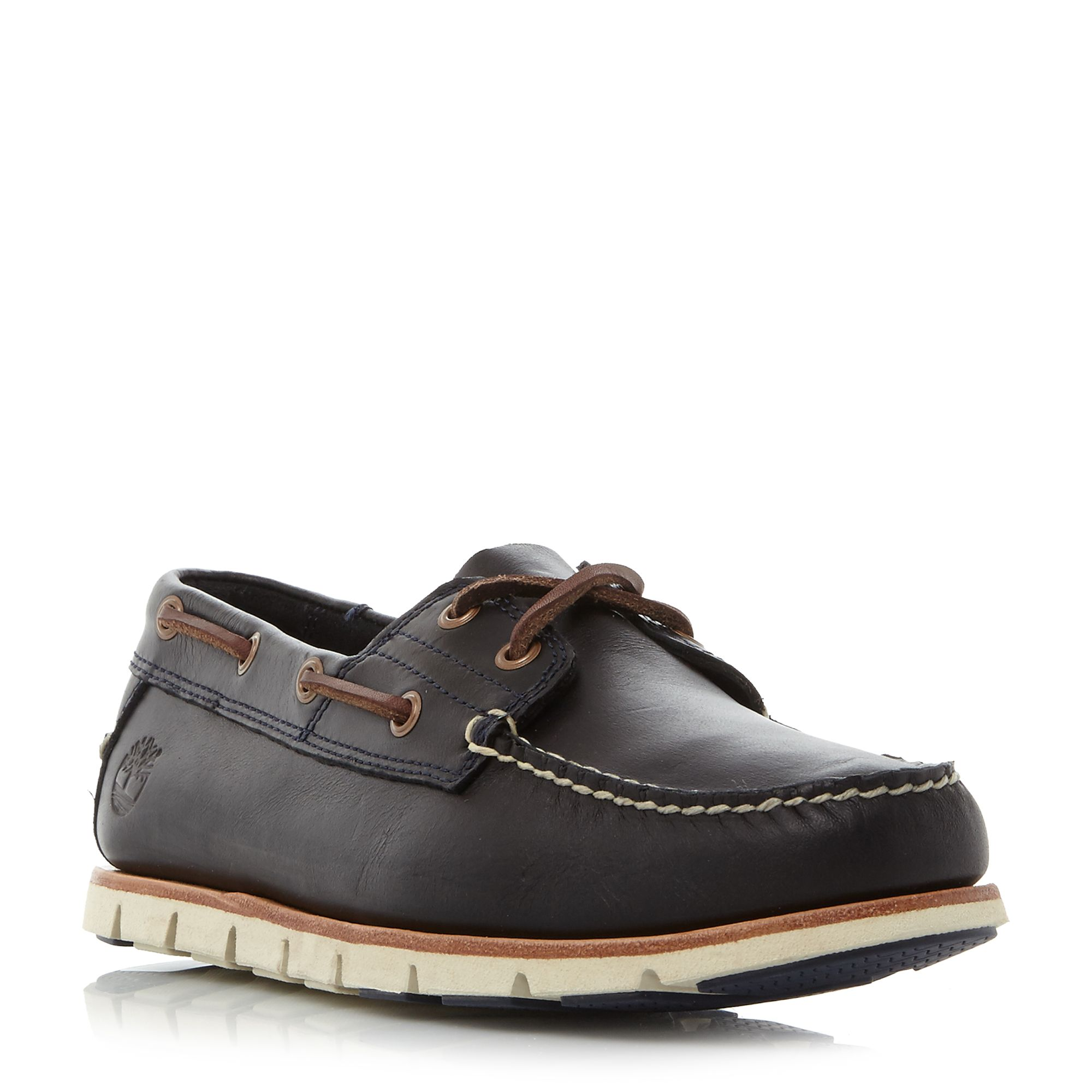 Timberland A1bbu cleated sole boat shoe Navy