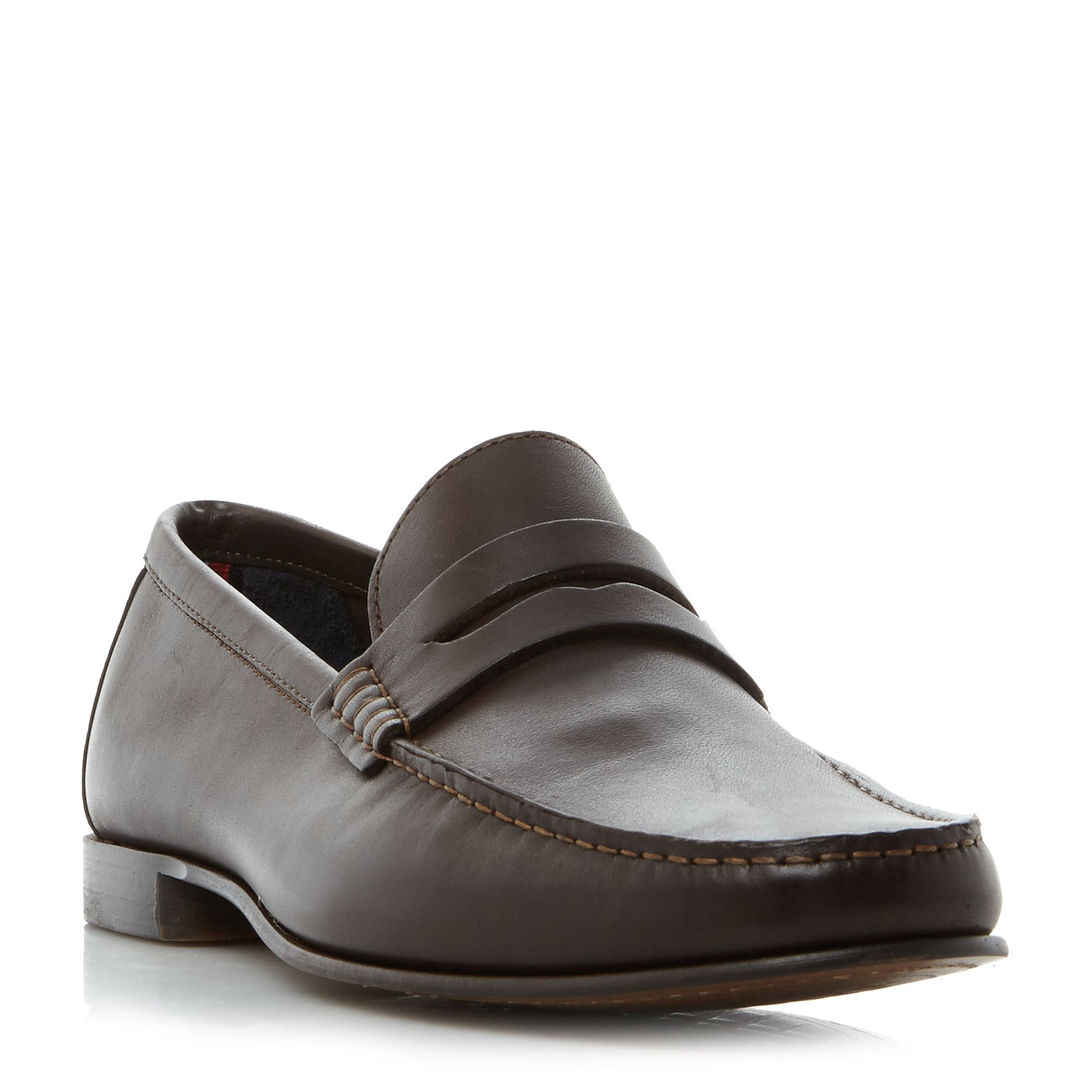 Tommy hilfiger russel 2a classic penny loafer brown 91 for Quality classic house of fraser