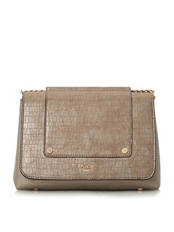 Etania metallic chain shoulder bag