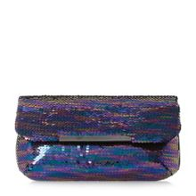 Dune Ellerina sequin clutch bag