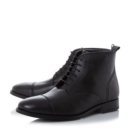 Bertie Mos toecap lace up formal boots