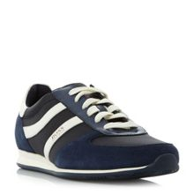 Hugo Boss Orland runn double stripe trainers