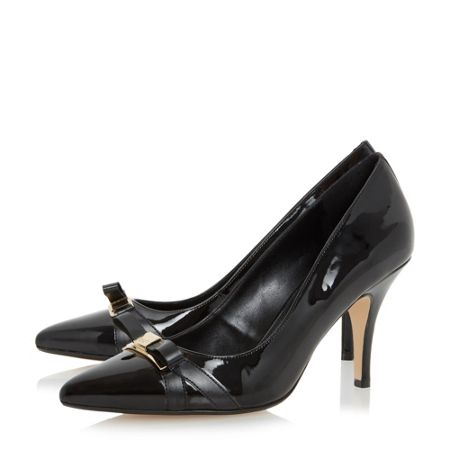 Dune Anora bow trim court shoes