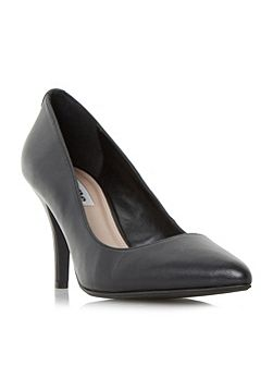 Aeryn mid heel pointed toe court shoes