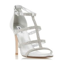 Dune Mahikie diamante strappy high sandals