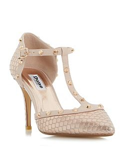 Cliopatra studded court shoes