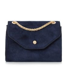 Dune Sara micro suede flap over micro bag