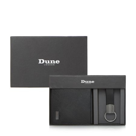 Dune Osmar saffiano leather wallet