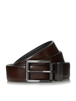 Orkley saffiano leather reversible belt